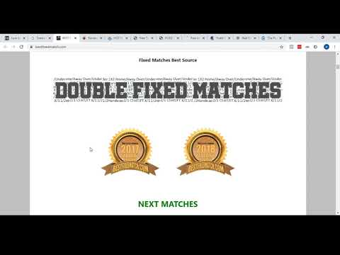 Fixed matches in 2021 - real truth about paid and free fixed matches