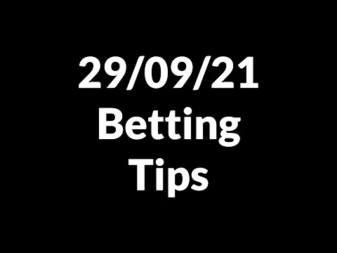 Football Betting Tips Today 29/09/21 — Free Soccer Predictions Today
