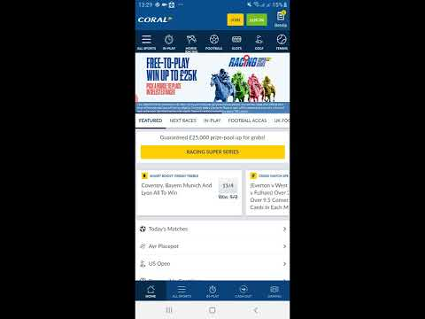 Coral Betting App — Download and install Coral Sports App