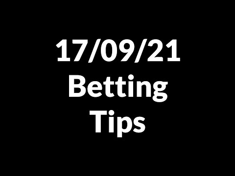 Football Betting Tips Today 17/09/21 — Free Soccer Predictions Today