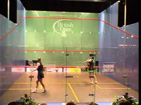 2001 British Open - Birmingham - v Carol Owens