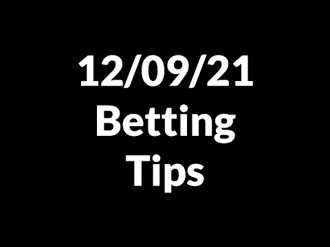 Football Betting Tips Today 12/09/21 — Free Soccer Predictions Today