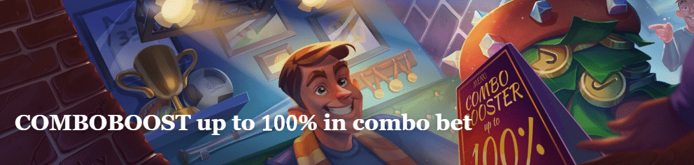 Combo bets boost up to 100 percents at JoyCasino SportsBook
