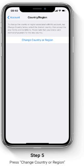 1xBet iOS app installation step 5