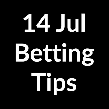 14 Jul 2020 – Betting Tips
