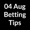 04 Aug 2020 – Betting Tips