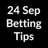 24 Sep 2020 – Betting Tips