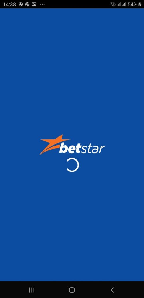 Splash Screen At Betstar Mobile Application