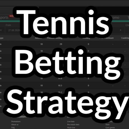 Tennis Betting Strategy (2-0 / 0-2)