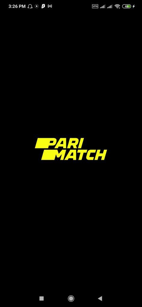 Parimatch Android App Splash Screen