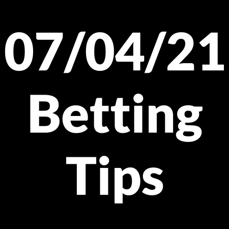 07 April 2021 — Betting Tips