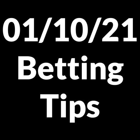 01 October 2021 — Betting Tips