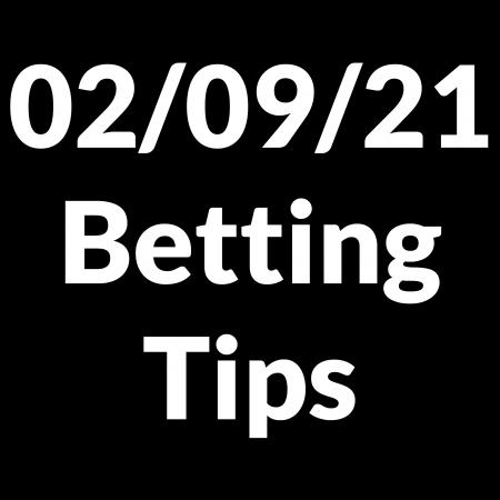 02 September 2021 — Betting Tips