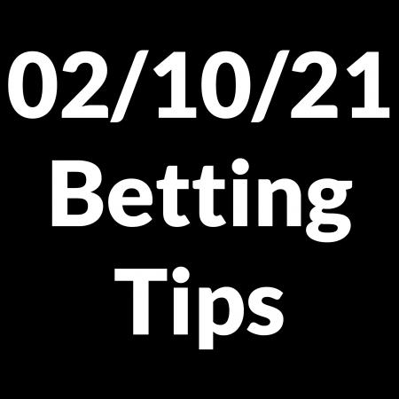 02 October 2021 — Betting Tips