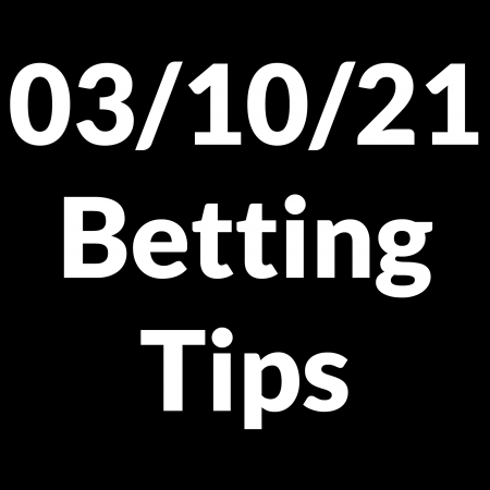 03 October 2021 — Betting Tips