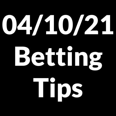 04 October 2021 — Betting Tips