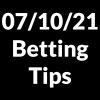 07 October 2021 — Betting Tips